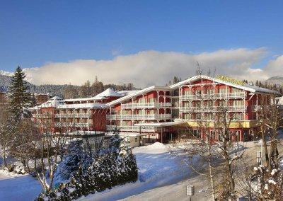 DAS HOTEL EDEN****S - Aussen Winter