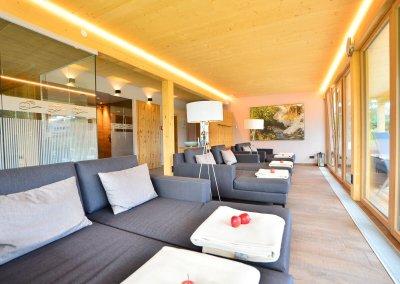DAS HOTEL EDEN****S - Panorama Sauna Ruheraum Sommerbild