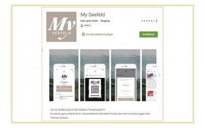 My Seefeld-App – legen Sie gleich los!