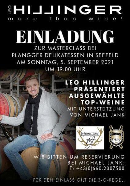 Masterclass-Hillinger-bei-Plangger-Info